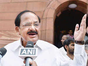 "Senior BJP leader M Venkaiah Naidu also slammed the Congress, saying, ""That was really unfortunate. This is unbecoming of Congress party...you start doing politics, that's really unfortunate""."