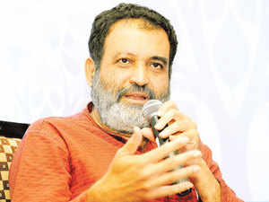 """""""Robots are taking over at large number of places. Robots don't want appraisal, they don't want work life balance. They work 24 hours. In Delhi, metro is going to be automated. Automobile industry which employees 1 in 6 people in the world is going to be automated,"""" Pai said."""