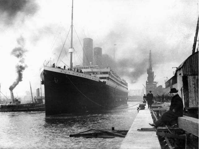 half off c7442 a391b The original Titanic sank in 1912, killing more than 1,500 people. The  Chinese firm