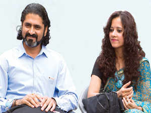 """""""Creating a brand in a highly fragmented industry was both challenging and exciting"""": Vishwas and Jagriti Shringi, Co-founders, Voylla"""