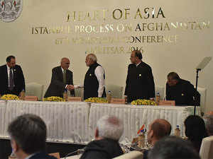 The nations also extended their support for Afghanistan's efforts to use its geographic location to enhance wider regional economic cooperation.