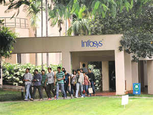 About two years ago, Infosys had reworked its delivery organization – moving from an integrated industry to a horizontal structure.