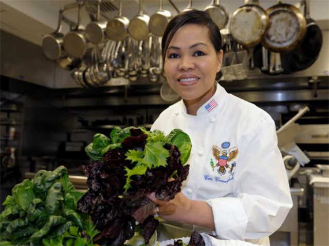 Women's History Month, White House First Female Executive Chef, Cristeta Pasia Comerford