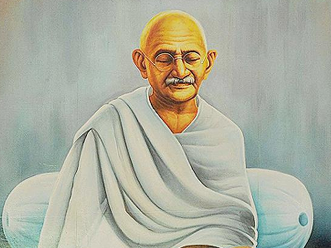 an analysis of the concept of power by mahatma gandhi Mahatma gandhi adopted the satyagraha movement as a real and active weapon of winning violence he believed that satyagraha is a particular form of struggle where there is no question of victory or defeat.
