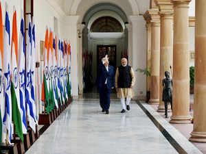 India, Israel PTI