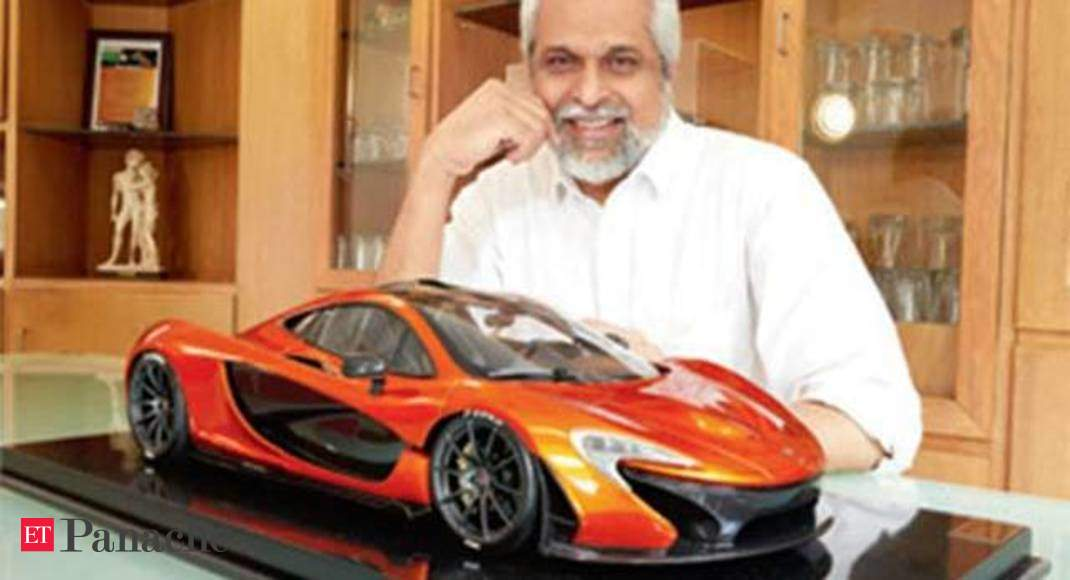Meet The Ad Lensman Who Owns A Mclaren P1 Miniature Worth Rs 5 20 000 The Economic Times