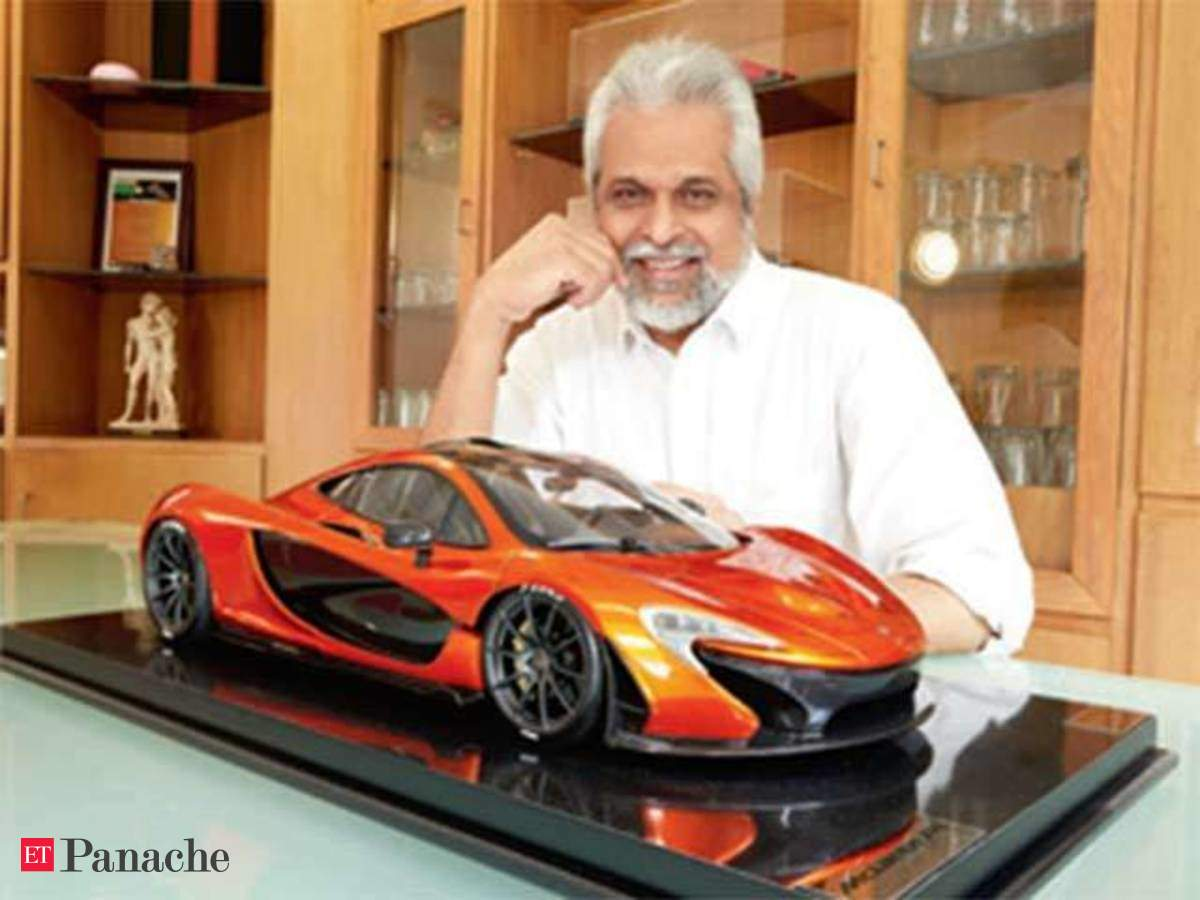 meet the ad lensman who owns a mclaren p1 miniature worth rs 5