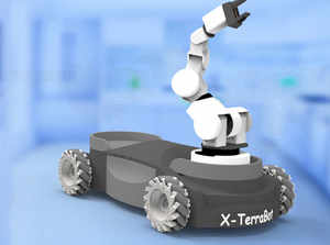 """""""We see great possibilities in various verticals such as hospitality, health care and retail and I feel that a market for service robotics is taking shape,"""" says Jayakrishnan."""