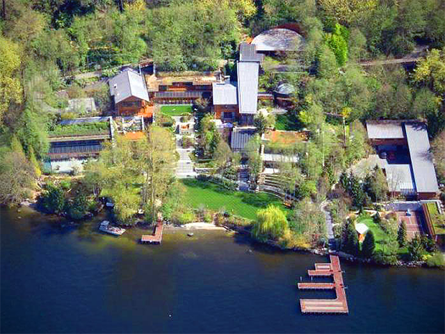 Take A Look At Bill Gates New House