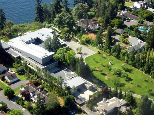 Bill Gates Peek Inside Bill Gates 124 Million Mansion Xanadu 2 0