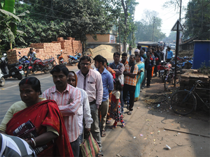 Modi's cash decision has forced many families to spend as many as four days a week lining up to withdraw money or exchange old bank notes.