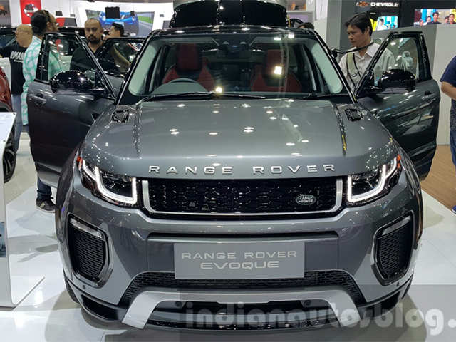 2017 Range Rover Evoque Launched In India At Rs 49 10 Lakh Facelifted The Economic Times