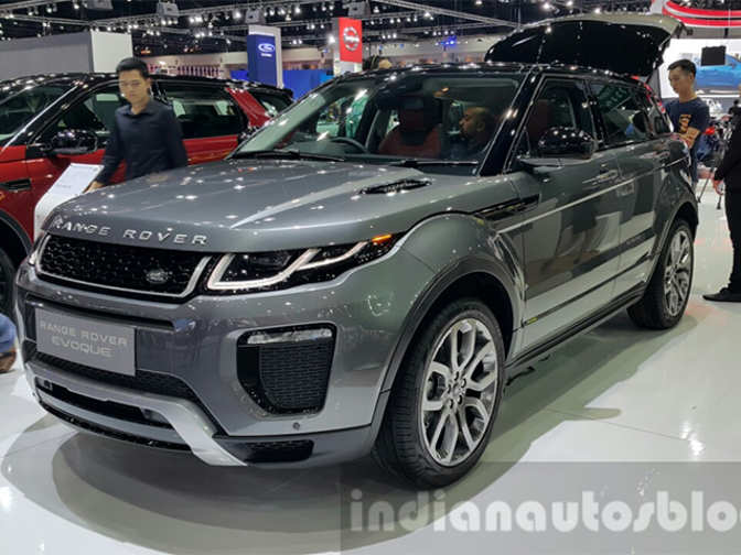 2017 range rover evoque launched in india at rs lakh. Black Bedroom Furniture Sets. Home Design Ideas