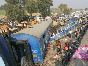 In one of the worst train accidents in the history of India, at least 150 people were killed and over 200 were injured when 14 coaches of Indore-Patna Express derailed at Pukhrayan near Kanpur.
