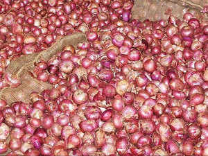 Wholesale prices fell by up to 42 per cent to Rs 7.40 per kg at Lasalgoan (Maharasthra), Asia's biggest onion market, during last month from an average Rs 12.80 per kg.