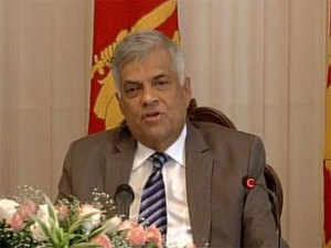Wickremesinghe said that the government from today was launching its development drive with opening up factories and announcing its new development strategies.