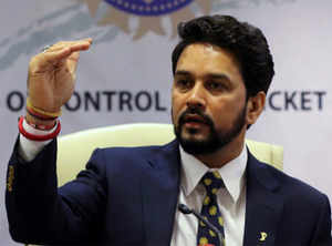 All the best if SC feels BCCI could do better under retired judges: Anurag Thakur