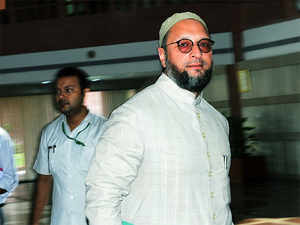 """In the past, Owaisi, known to make controversial remarks, had attracted the charge of delivering """"hate speeches""""."""