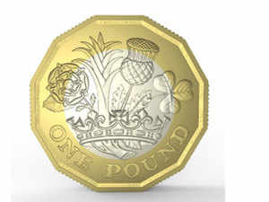 The old pound coin is set to be replaced by the new 12-sided 1 pound coin (in pic) in March and the round pound will cease to be legal tender by October 15.