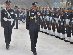 Air Marshal S B Deo has been AOC of a major fighter base and commanded a Mig-21 Bison Squadron and a Signal Unit besides being the Chief Operating Officer of a forward base.