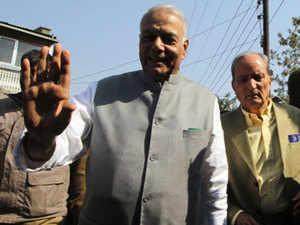 Yashwant Sinha believes in former Prime Minister Atal Bihari Vajpayee's doctrine of 'Insaniyat, Jhamooriyat and Kashmiriyat' on Kashmir.