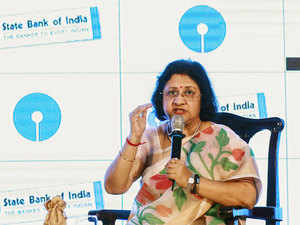 SBI chairman Arundhati Bhattacharya said she expects her bank's credit growth to be boosted after the cut in rates.