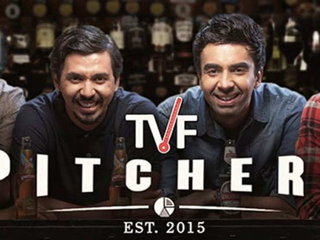 The TVF show 'Pitchers' became the highest rated Indian web-series & 'Permanent Roommates' earned stripes as the most watched in India.