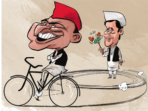 When Akhilesh took over as UP CM, Rahul was being pressured to play a similar role in the then UPA.