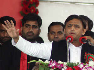 """BJP believes that the """"forced removal"""" of Mulayam may go against Akhilesh, who is banking on his """"clean image"""" to return to power in the upcoming Assembly elections."""