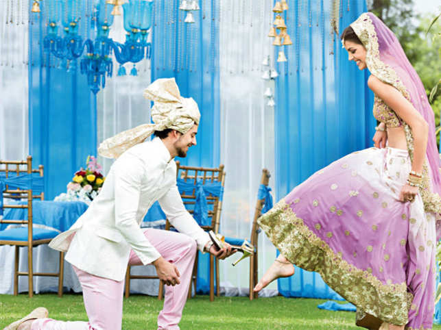 Indian wedding planners and couturiers should actively scout for international clients now to that end.