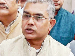 Right now I can't name those Trinamool Congress leaders who have contacted us and expressed their desire to join our party, said Dilip Ghosh.