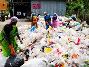 This is one way that plastic, on a large scale, can be recycled, and the blanket ban on plastics  enforced last March  be made more meaningful, the KSPCB has argued.