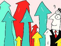 Shares of Zee Entertainment and Sun TV were trading around 0.83 per cent and 0.23 per cent up at Rs 462.40 and Rs 525.10, respectively, around 12.30 pm (IST).