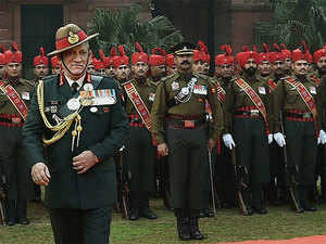"""""""When the local youth join insurgency and pick up gun it is a matter of concern because our own countrymen getting involved in insurgency is not a happy situation,"""" Gen Rawat said."""
