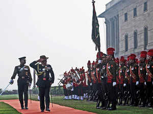 """The army chief reviewed the security situation in Jammu and Kashmir and also operational preparedness of Northern Command at a high-level meeting,"" officials said."