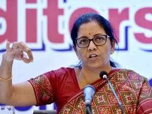 Nirmala Sitharaman said the remaining 10 per cent will be subject to whatever verification revenue department is required to do.