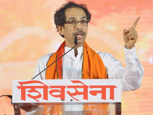 """""""Nowadays there is pollution everywhere. Especially the politics is much more polluted. I have a machine needed to clean up the politics and I keep using it,"""" Uddhav said."""