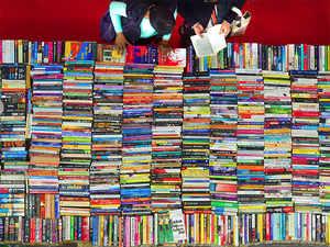 The book fair hosted at the Pragati Maidan runs January 7-15.