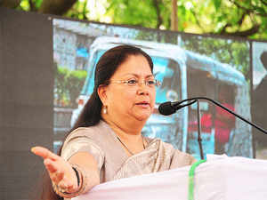 She also announced Rs 36 crore road to Gowardhan and Rs 106 crore for Khedli to Pahadi state highway.