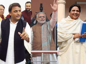 Rivals SP and BSP had came together briefly in 1993 with Mulayam.