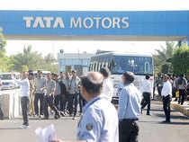 According to Bloomberg data, 40 of the 49 analysts tracking Tata Motors have a Rs buy' rating on the stock. The stock is trading at 13 times its oneyear forward earnings.