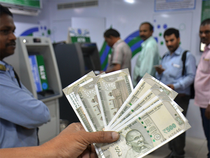 The local currency on Thursday settled 9 paise higher at 67.96 against dollar.