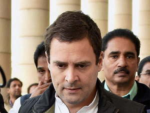 The campaign would be unveiled by Congress vice-president Rahul Gandhi through his speeches on currency replacement exercise.