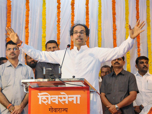 Editorial slammed Shiv Sena president Uddhav Thackeray on Friday for criticising BJP.