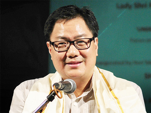 According to report in a national daily, Union Minister of State for Home Kiren Rijiju's name is doing the rounds as the next possible Chief Minister of the state.
