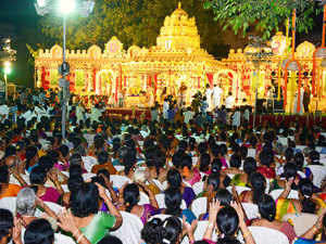 About 10 crore pieces of the famous 'laddu prasad' were prepared at the shrine for distribution among the devotees.