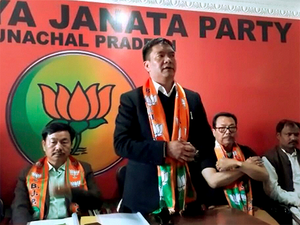 BJP national president Amit Shah officially welcomed Khandu and his team of PPA legislators into the party-fold yesterday.