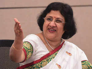 Talking about demonetisation, Arundhati Bhattacharya said the move has given a huge push to the digital economy.
