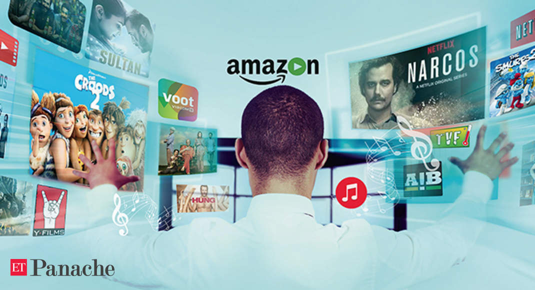 Netflix Vs Amazon The Battle To Attract Viewers With Original Content Set To Intensify In India The Economic Times