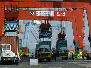 APM Terminals Mumbai is a joint venture between APM Terminals and the Container Corporation of India (CONCOR), operating from Nhava Sheva's Jawaharlal Nehru Port (JNPT) and represents India's largest container terminal. (Representative image)